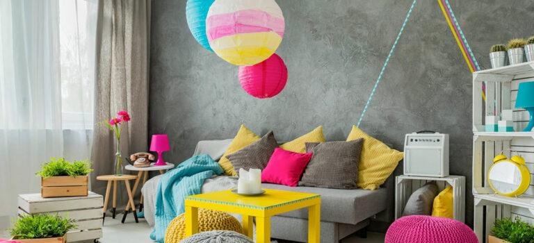 Un toque de color para tu hogar