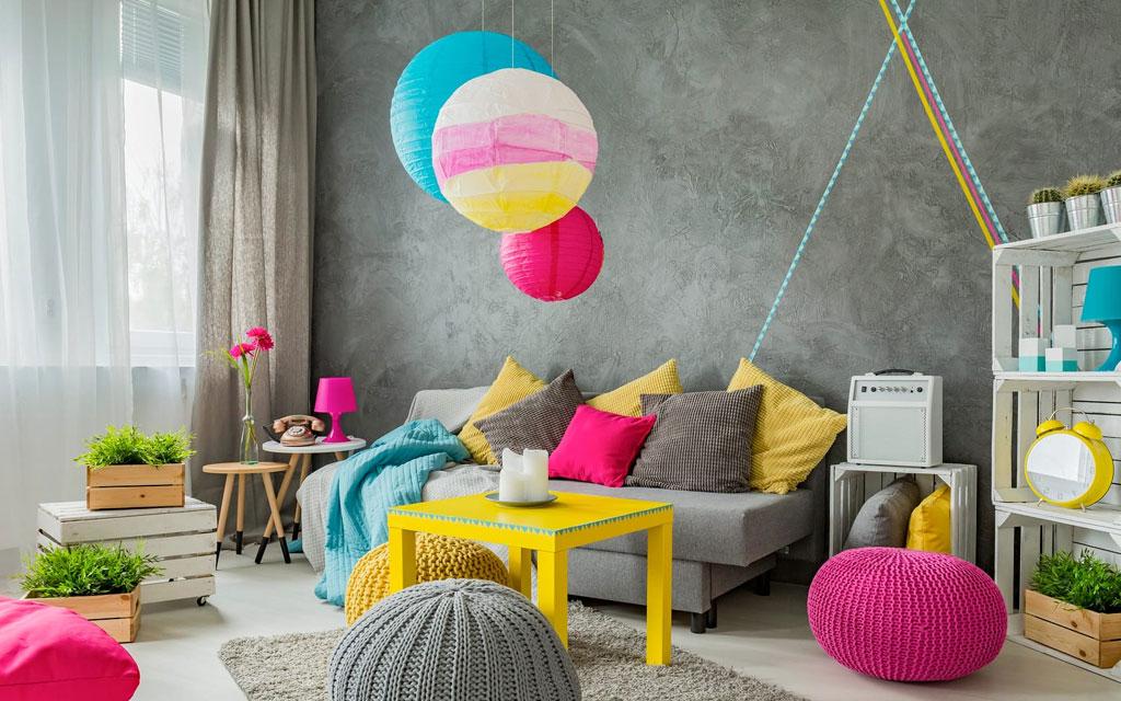 color en el hogar