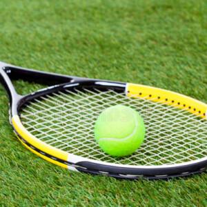 Césped artificial tenis